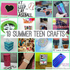 Fun And Easy Crafts For Teens