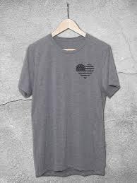 american heart graphic tee american t shirts u2013 hello floyd