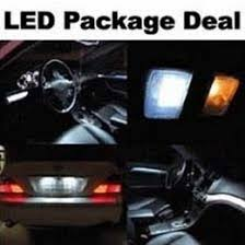 Bright LED Car Interior Lights Package For Jeep Cherokee