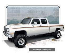100 1987 Chevrolet Truck V30 1 Ton Crew Cab 4x4 Restoration Project CK