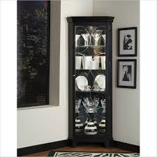 the curio cabinets with lights pertaining to residence