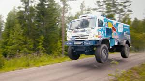 100 Rally Truck For Sale A Kamaz T4 Dakar Beast Tears Up A Backcountry Track YouTube