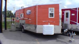 100 Hunting Travel Trailers 2014 Ice Castle 8x16 Lake Of The Woods Hybrid Fish House Trailer Shack All In One
