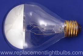 150p25 2sb 120v 150w silver mirror surgical spotlight light bulb
