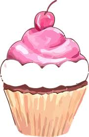 Cupcake Muffin Sweet Cherry Fruit Cake Bir