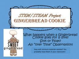 Materials Sink Or Float by Steam Stem Challenge Gingerbread Cookie Sink Or Float Tpt