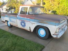 1960 Chevy Shop Truck, Rat Rod, Hot Rod, C10, Apache, Patina, 2WD, 1 ...