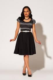 Laura Byrnes California Little Jun Skirt In Black Sateen
