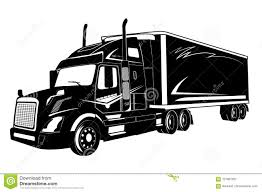 100 Semi Truck Pictures Icon Of Vector Illustration Stock Vector