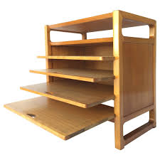 Kent Coffey Wharton Dresser by Edward Wormley Precedent By Drexel Elm Hutch Lot 242 Furniture