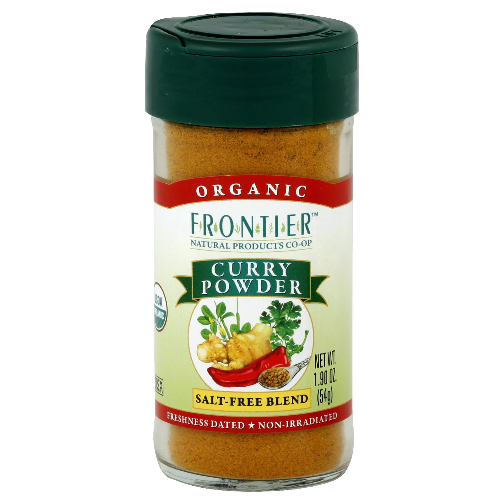 Frontier Organic Curry Powder - 54g