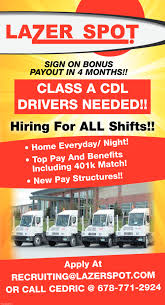 DRIVERS, Lazer Spot, Alpharetta, GA Truck Driving Jobs For Veterans Get Hired Today For Oilfield Trucking Vs Otr Howto Cdl School To 700 Job In 2 Years Inexperienced Roehljobs Available Experienced Drivers Why Veriha Benefits Of With Cdllife Cdla Local Truck Driver Jobs And Get Paid Up 1450 Entrylevel No Experience Class A Jiggy Drivejbhuntcom Driver Opportunities Drive Jb Hunt Uerstanding The Pay Scale Truckdriverssalarycom Those Trucking Jobs Are Aging Its A Problem