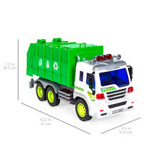Best Choice Products 1/16 Scale Friction Powered Toy Recycling ...