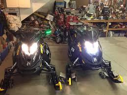 brp auxillary led headlight ski doo gear testers dootalk forums