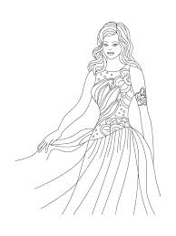 For Kids Download Dresses Coloring Pages 89 In Free With