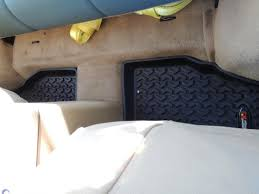 Jeep Jk Rugged Ridge Floor Liners by Rugged Ridge Wrangler All Terrain Rear Floor Liners Black