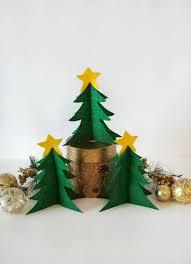 Felt Christmas Tree Diy How To Make A Super Simple And Quick Decor