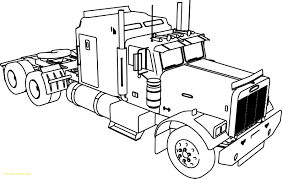 Best Of Detailed Semi Coloring Pages Peterbilt Collection | Free ...