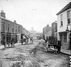 100 Dublin Street 1870s View In Blackrock Cool Old Photos