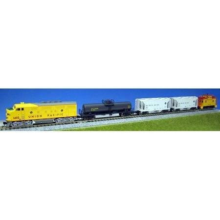 Kato 106-6272 N F7 Up Freight Train Set