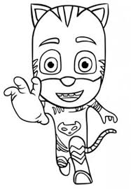 314x452 Pj Masks Catboy Love Owlette Coloring Page