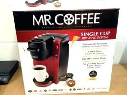 Mr Coffee Vs Keurig Red Single Serve Maker K Cup