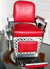 rare vintage takara belmont barber chair 1950s 2 chairs