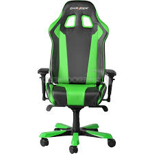 dxracer king series gaming chair black green oh kf06 ne ocuk