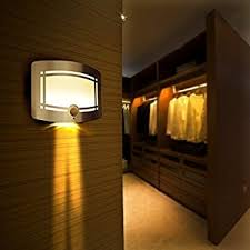 fding led wall light light operated motion sensor nightlight