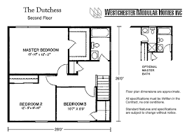 Dutchess Two Story Floorplan By Westchester Modular Homes