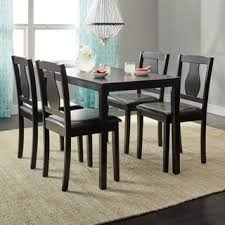 Simple Living Black 5 Piece Kaylee Dining Set