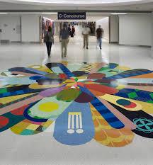 Terrazzo Flooring At Lambert Airport
