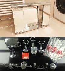 details zu design metalkris spiegel badezimmer schrank chrom wc rar