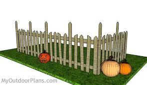 Halloween Cemetery Fence by Halloween Graveyard Fence Plans Myoutdoorplans Free