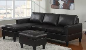 Buchannan Faux Leather Sectional Sofa by Free Living Rooms Buchannan Faux Leather Sectional Sofa With With