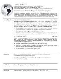 Procurement Officer Resume Objective