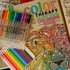 Color Therapy An Anti Stress Coloring Book