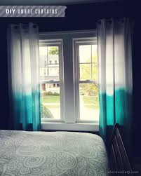 Fabric For Curtains Diy by Shore Society Diy Ombre Curtains