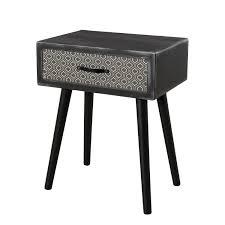 table pour canapé bout de canapé table de chevet meuble salon pier import