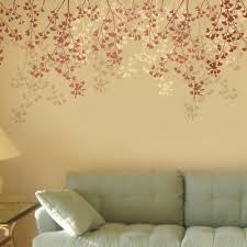 decorative stencils for walls vibrant creative stencil wall remarkable decoration wall