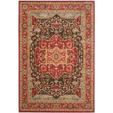 Red 7 X 9 Area Rugs Rugs The Home Depot
