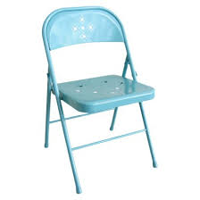 folding chair perforated teal from target nice vintage look for