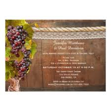 Vineyard After Wedding Invitation