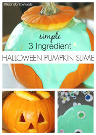 Pumpkin Books For Toddlers by Easy Slime Recipe For Halloween Slime In Pumpkin