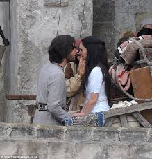 A Romantic Tale While Filming Scenes For The Remake Of Ben Hur Leading