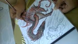 My Brother Coloring Drogon