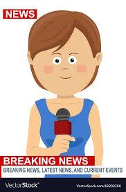 Female News Reporter