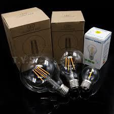 led filament bulb g80 g95 g45 global vintage led edison bulb e27