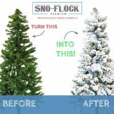 Flocking Powder For Christmas Trees by Christmas Tree Snow Flock Snoflock Professional Grade Artificial