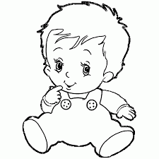 Large Size Of Coloring Pagescoloring Page Boy Baby Pictures